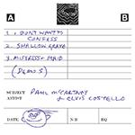 Paul McCartney/Cassette Demos
