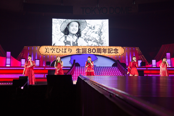 4月5日@東京ドーム(Little Glee Monster)