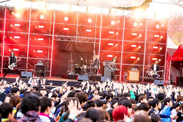 4月1日@愛・地球博記念公園(coldrain)