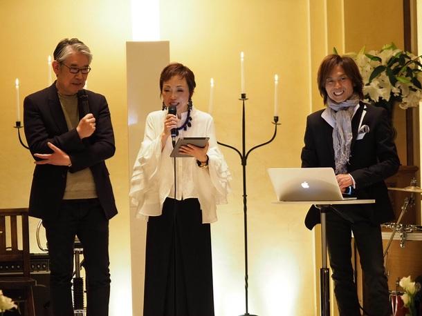 4月3日@東京・南青山ル・アンジェ教会