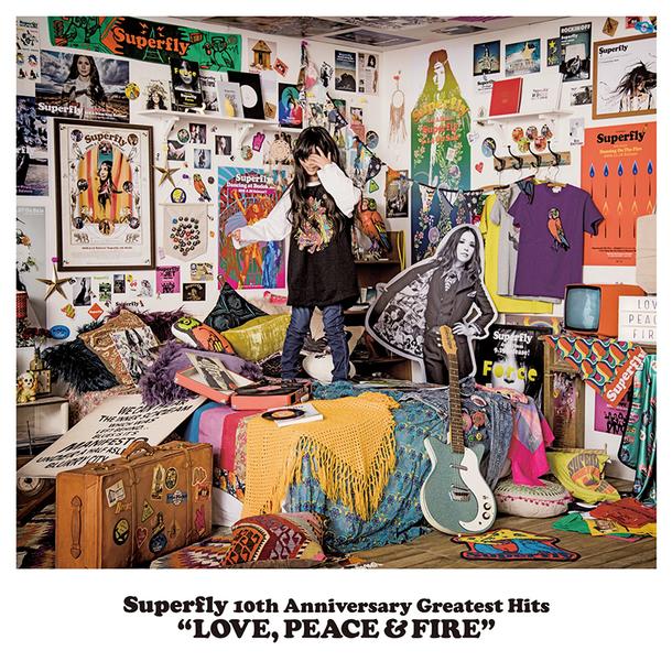 アルバム『LOVE, PEACE & FIRE』【初回限定盤】(4CD))