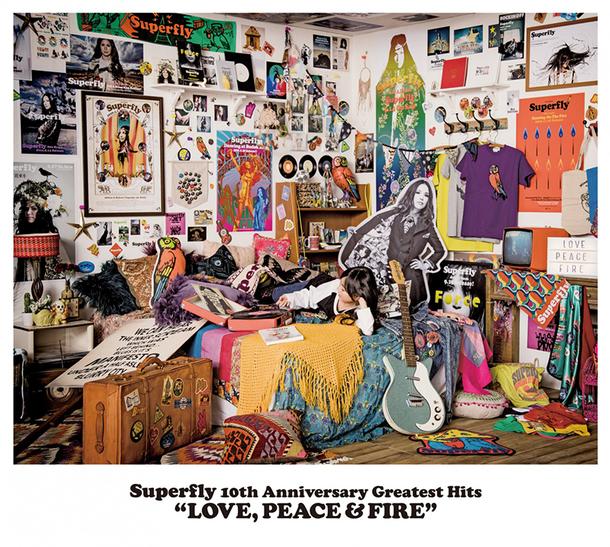 アルバム『LOVE, PEACE & FIRE』【通常盤】(3CD)