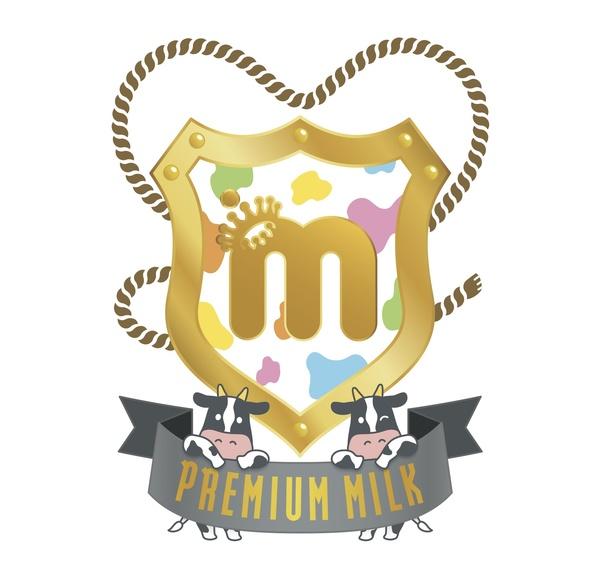 ファンクラブ 「PREMIUM MILK」ロゴ