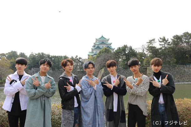 『プロジェクトVIXX3~宇宙からの侵略者たちフォーエヴァー~』 左から)HYUK(ヒョギ)、RAVI(ラビ)、LEO(レオ)、カイ(超特急2号車)、HONGBIN(ホンビン)、N(エン)、KEN(ケン)
