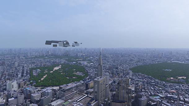 8K:VR ライド イメージ