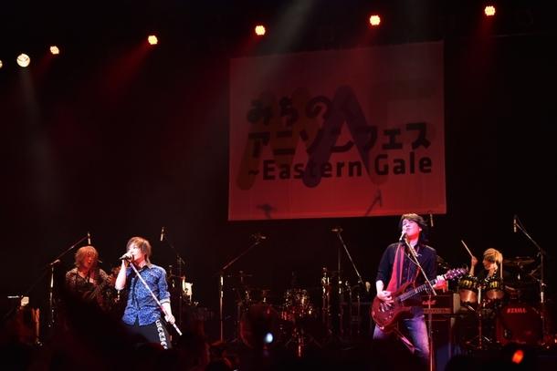 """""""みちのくアニソンフェス2017~Eastern Gale"""" より、GRANRODEO (提供:ランティス)"""
