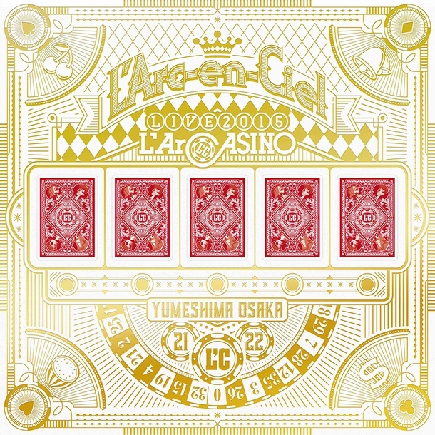 Blu-ray『L'Arc~en~Ciel LIVE 2015 L'ArCASINO』【完全生産限定盤】(BD+2CD+3アナログレコード+7L'ArCHIP)
