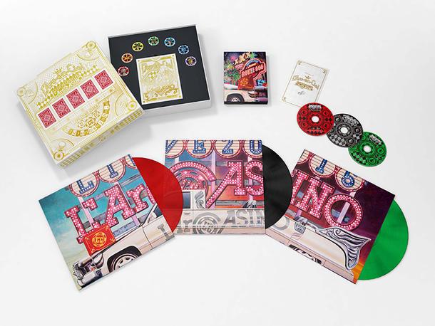 Blu-ray『L'Arc~en~Ciel LIVE 2015 L'ArCASINO』完全生産限定盤パッケージ
