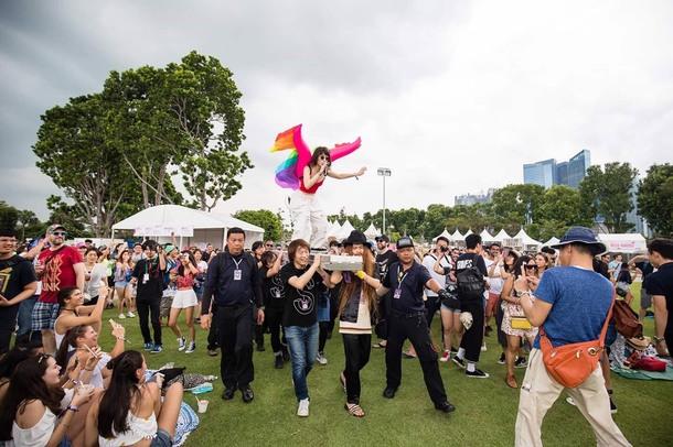 1月21日@『Laneway Festival Singapore 2017』 photo by  Alvin Ho / Laneway Festival Singapore