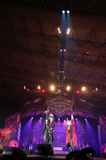 10月30日(日)@幕張メッセ国際展示場9・10・ 11ホール(YOSHIKI×HYDE)