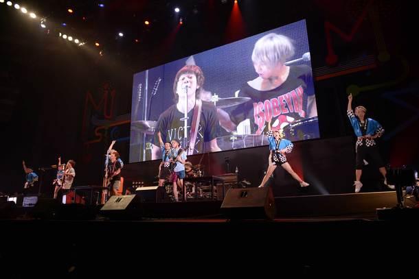 10月9日(日)@『ビクターロック祭り2016~大阪秋の陣~』(KEYTALK) photo by 大久保啓二、小林俊史