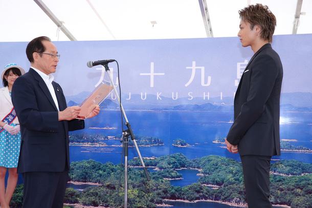 9月23日@「佐世保観光名誉大使就任式」