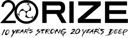 RIZE 20周年ロゴ