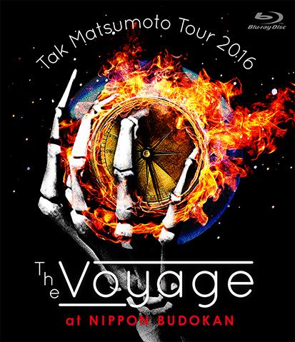 Blu-ray『Tak Matsumoto Tour 2016 -The Voyage- at 日本武道館』