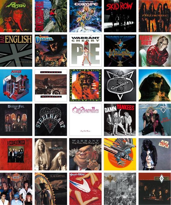 80年代を席巻したメタルナンバーを集めたコンピレーションCD ...