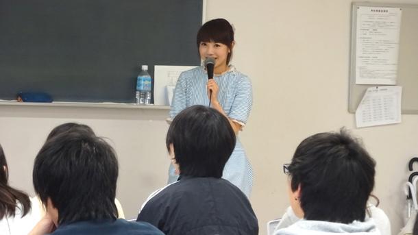 Sakuが日本工学院蒲田のコンサート・イベント科の授業に特別ゲストとして登壇