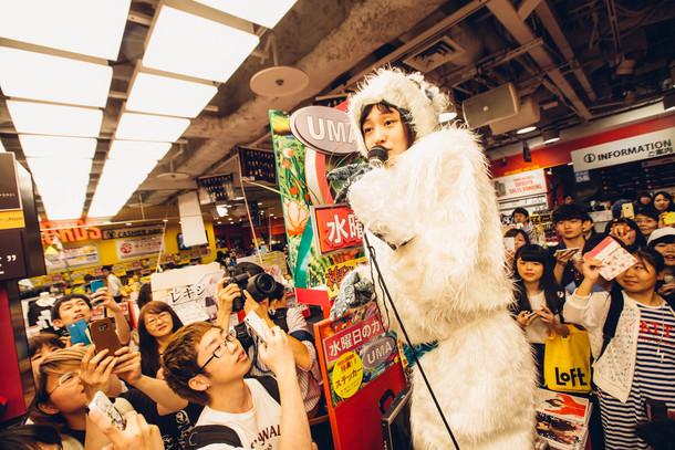 6月22日@タワーレコード渋谷店