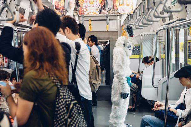6月22日@電車内