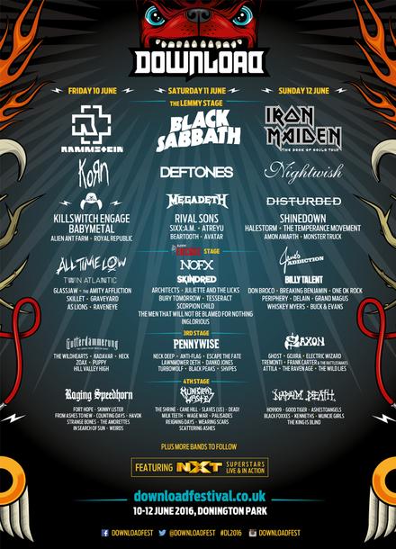 『DOWNLOAD FESTIVAL UK』