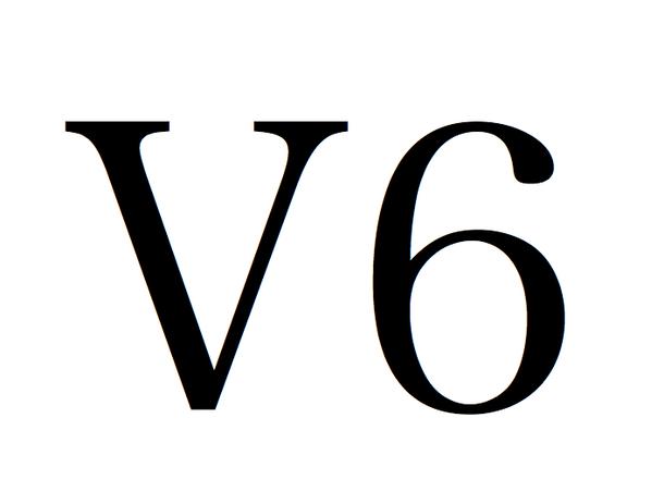 V6 ロゴ