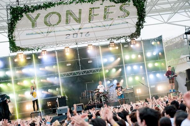 4月3日(日)@『YON FES 2016』KEYTALK photo byヤオタケシ
