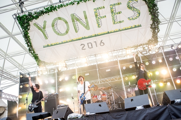 4月3日(日)@『YON FES 2016』BLUE ENCOUNT photo byヤオタケシ