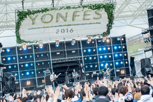 4月3日(日)@『YON FES 2016』THREE LIGHTS DOWN KINGS photo byヤオタケシ