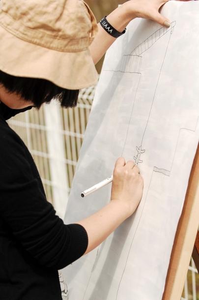 『YON FES 2016』村本咲 by Yukihide JON... Takimoto