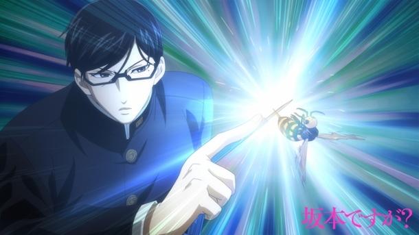TVアニメ「坂本ですが?」先行場面カット(3) (C)佐野菜見・KADOKAWA刊/坂本ですが?製作委員会