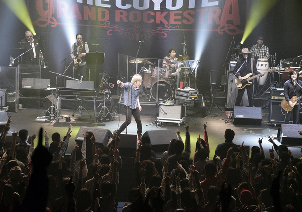 『佐野元春 & THE COYOTE GRAND ROCKESTRA 35周年アニバーサリー・ツアー』
