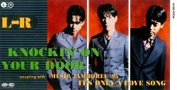 L⇔R「KNOCKIN' ON YOUR DOOR」ジャケット画像