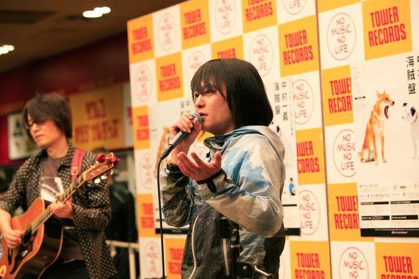 3月2日@タワーレコード渋谷店1Fイベントスペース
