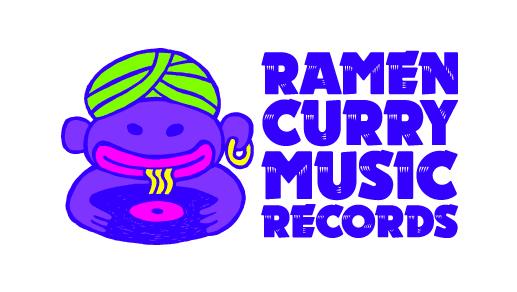 ラーメンカレーミュージックレコード ロゴ