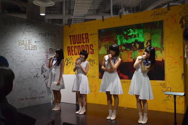 2月21日(日)@タワーレコード梅田NU茶屋町店