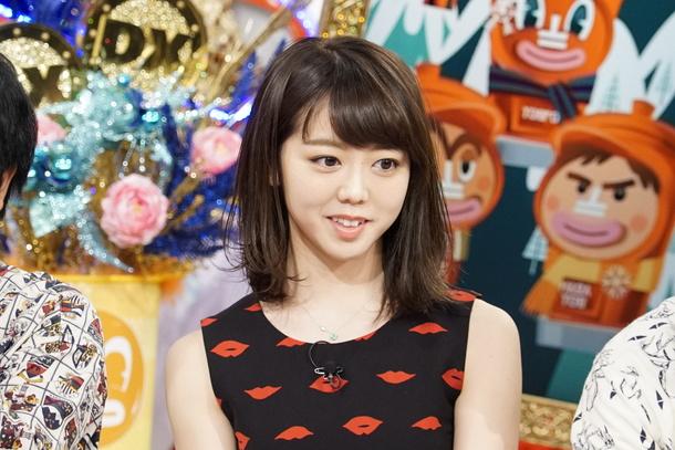 「ダウンタウンDX」2月18日放送、AKB48 の峯岸みなみ (c)読売テレビ