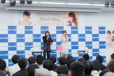 内田彩のコンセプトアルバム発売を記念したトークイベントの模様