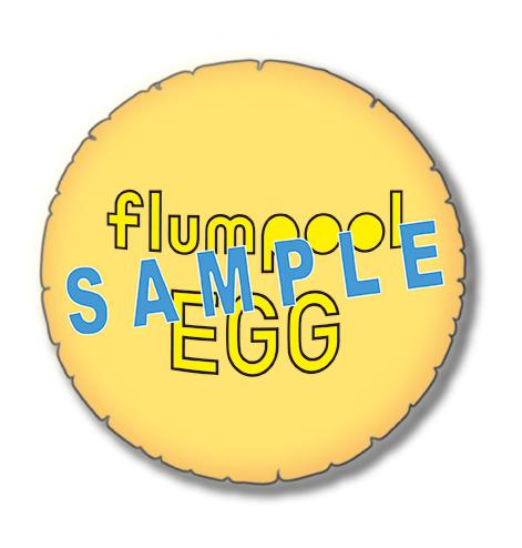 flumpoolオリジナル! 卵形もこもこ快眠グッズ
