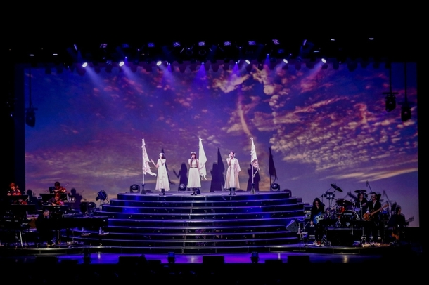 "「Kalafina LIVE TOUR 2015~2016 ""far on the water""」FINAL公演の模様(1)"
