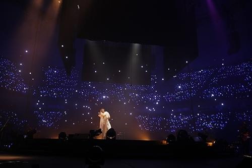 """MAMORU MIYANO LIVE TOUR 2015-16 ~GENERATING!~""の模様(1) Photo:hajime kamiiisaka"