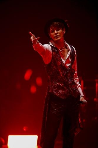"""MAMORU MIYANO LIVE TOUR 2015-16 ~GENERATING!~""の模様(3) Photo:hajime kamiiisaka"
