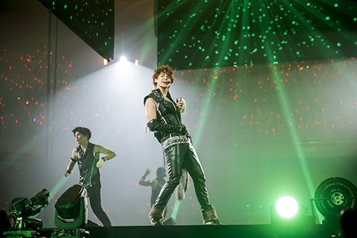"""MAMORU MIYANO LIVE TOUR 2015-16 ~GENERATING!~""の模様(5) Photo:hajime kamiiisaka"