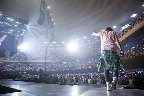 """MAMORU MIYANO LIVE TOUR 2015-16 ~GENERATING!~""の模様(7) Photo:hajime kamiiisaka"