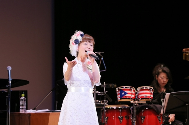 (画像3枚目)35周年記念コンサートを開催した山野さと子 カメラマン:上田健次