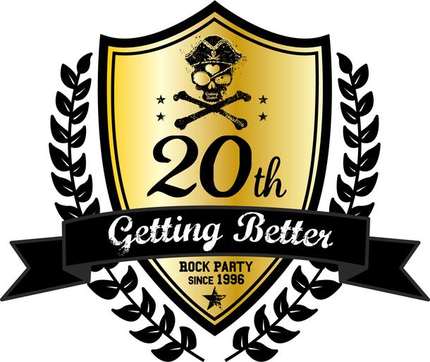 Getting Better20周年ロゴ