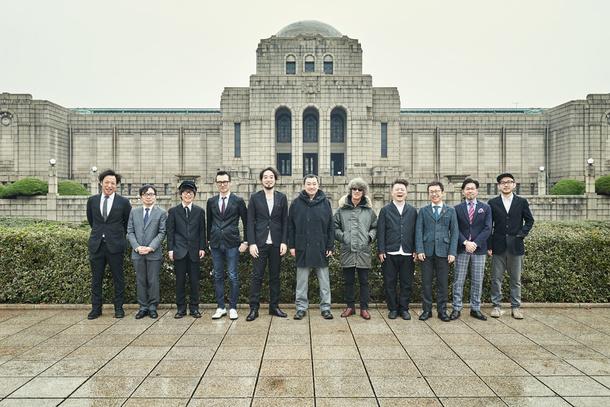 アルバム『セカンド』参加メンバー記念写真
