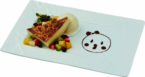 ことりのチーズケーキブリュレ 900 円