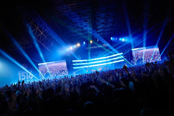 12月31日@「COUNTDOWN JAPAN 15/16」