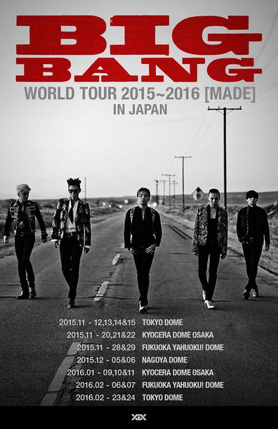 『BIGBANG WORLD TOUR 2015~2016 [MADE] IN JAPAN』