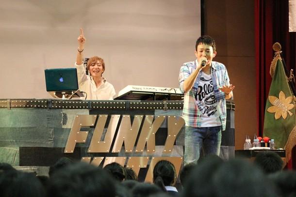 卒業生応援ライブ