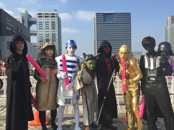 10月24日@「めざましテレビ presents T-SPOOK 〜TOKYO HALLOWEEN PARTY〜」